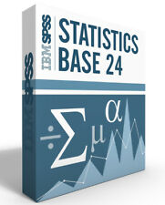 SPSS Statistics Grad Pack 24.0 Base Windows or Mac 12 month License