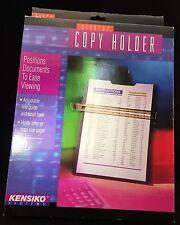 Kensiko Desktop Copy Holder Adjustable Line Guide Recipes Black Letter or Legal