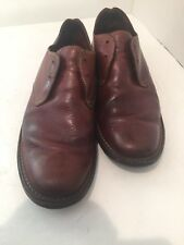 Cole Haan Country Mens 10 M Russet Brown Leather Oxfords Shoes Brazil