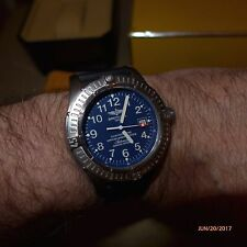 Breitling Avenger Seawolf Ti,Hershey, E17370, Blue Dial, Boxes,COSC,...Minty !!