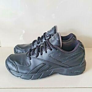 Reebok DMX Ride Black Slip & Oil Resistant Work Shoes Sneakers Women US 7