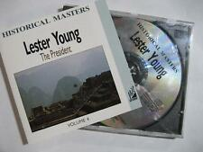 "LESTER YOUNG ""THE PRESIDENT VOL.4"" - CD"