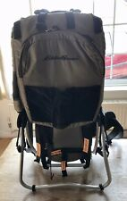 Eddie Bauer Child Baby Toddler Backpack Carrier Hiking Chair Stand
