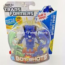 Transformers Bot Shots Super 004 Optimus Prime Clear Blue Transparent Variant