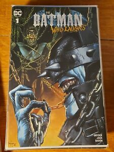 Batman Who Laughs #1 Mico Suayan Nightwing Variant Unknown Comics NM