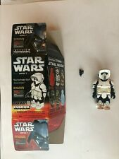 Medicom Tomy  Star Wars KUBRICK BIKER SCOUT  loose + complete U.S. seller