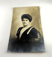 Vintage Post Card Photo 1920's Woman Unused
