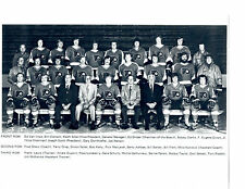 1973 PHILADELPHIA FLYERS 8X10 TEAM PHOTO  HOCKEY NHL CLARKE PARENT
