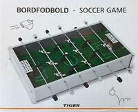 BNIB - Bordfodbold - Soccer Game - Mini Football Game Desk Table FoosBall Office