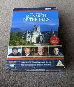 MONARCH OF THE GLEN Complete Series Box Set 22 Disc Region 2 UK DVD BOX SET