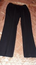 CESARE FABBRI FAB WOOL TUXEDO PANTS, 100% WOOL, WELL MADE  IN ITALY