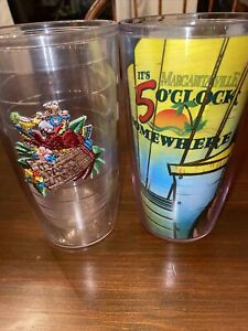 Tervis Tumbler Set If 2 Margaritaville And Party Parrot