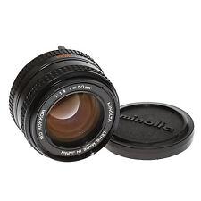 Minolta MD Rokkor 50mm 1:1,4 lichtstarkes Normalobjektiv vom Händler