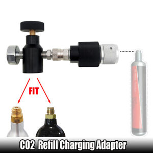 Paintball Soda Stream Cylinder to 88g CO2 Cartridge Refill Charging Adapter