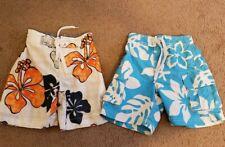 Lot Of 2 Boys Swim Shorts, Size 4 (XS)