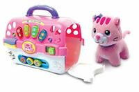 VTech Cosy Kitten Carrier Interactive Toy, Baby Activity Center with Animal Baby