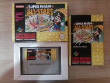 Super Nintendo Game * SUPER MARIO ALLSTARS * Complete SNES Retro Rare