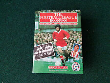 BYRON BUTLER The Football League 1888-1988 The Official Illustrated History