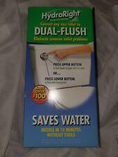 HYDRORIGHT Dual-Flush Toilet Converter Kit HYR270 Push Button