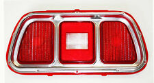 NEW 1971-1973 Ford Mustang TAIL LIGHT BEZEL AND LENS Price is Each