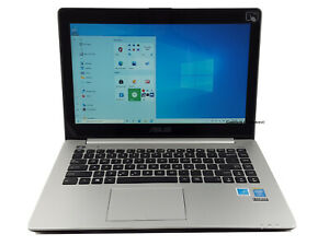 """14"""" Touch ASUS V451 ultrabook Intel i5 up to 2.6GHz 240GB SSD 6GB Win10 Laptop"""