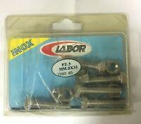 LABOR 5 PZ viti bulloni bullone testa esagonale con dado in acciaio inox 8x35 mm