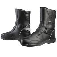 Weise Lock DINTEX Waterproof Motorcycle Touring Short Boots Free Polishing Kit