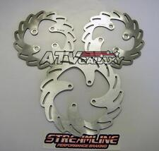 Streamline Front & Rear Brake Rotors Can Am DS450 DS 450 2008 2009
