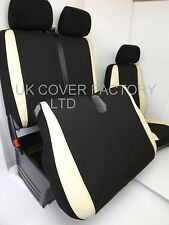 PEUGEOT BOXER  VAN SEAT COVERS MADE TO MEASURE CREAM SPORTS TRIM P50CRM