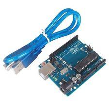 1pcs UNO R3 BOARD ATMEGA328P-PU ATMEGA8U2 FOR ARDUINO +USB Cable