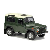Welly 1:24 Land Rover Defender Diecast Model SUV Car Green NEW IN BOX