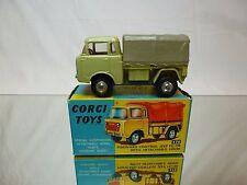 CORGI TOYS 470 JEEP FC-150 + CANOPY- MUSTARD YELLOW/GREEN 1:43 - GOOD IN BOX