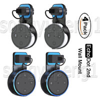 4 Pack Echo Dot Wall Mount Stand Holder Stand For Amazon Alexa Echo Dot 2nd Gen