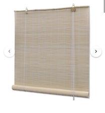 Natural Bamboo Roller Blinds 100 x 160 cm