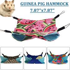 Pet Warm Guinea Pig Bed Small Animal Hamster Mice Rat Rabbit Hammock Hous
