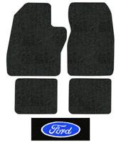 1988-1997 Ford F-350 Floor Mats - 4pc - Cutpile | Fits: Crew Cab