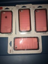 Lot Of 4pc Verizon Silicone Protective Case Cover for Apple iPhone 5C - Pink
