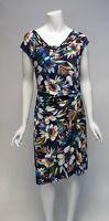 Tommy Hilfiger Floral Above Knee Sheath Side Gathered  Dress Sz 12 NWT $119