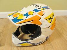 Vintage Vetter by Bell Motorcross Atv Racing Helmet Motorcycle w/Visor sz L