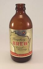 Vintage Kingsbury Brown Glass 12 oz. Short-neck Beer Bottle Sheboygan Wisconsin