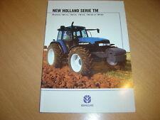CATALOGUE New Holland série TM de 2000