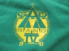 VTG GAP BAND IV Tour 1982 T Shirt Green Size M Sportswear