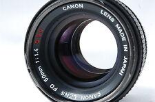 Canon FD 50mm F1.4 S.S.C. Lens SN306666