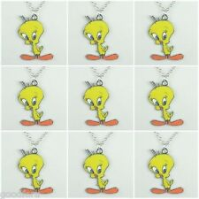 Lot Wholesale 9pcs Tweety Bird Pendant Necklaces Boys Girls Birthday Party Gifts