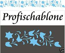Schablone, Wandschablone, Wandfries, Malerschablone, Wanddekor, indische Ranke