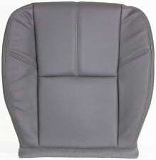 2007-2013 GMC 3500 HD FLATBED Utility Bed WT Driver Bottom VINYL Seat Cover Gray