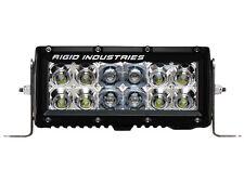 "RIGID INDUSTRIES E-Series 6"" FLOOD / SPOT COMBO LED Light Bar AMBER =Less Glare!"