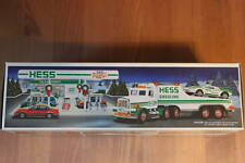 1991 Hess Toy Truck & Racer - NIB - Collector's Item - Never Removed from Box