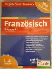 Französisch Grammatik Die große Schüler-Lernmappe 1.-4. Lernjahr 190 Testseiten