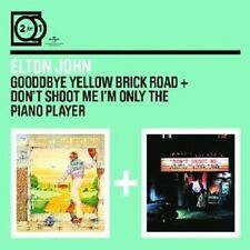 "ELTON JOHN ""GOODBYE YELLOW/DON´T SHOOT ME"" 2 CD NEU"